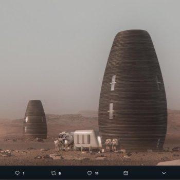 Los modelos de casas impresas en 3D en Marte representan una solución para la exploración del espacio profundo al mismo tiempo que son sostenibles.