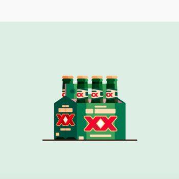 El diseñador Kevin Yang creó una serie de Ilustraciones de Cervezas basadas en algunas marcas del mundo ¿puedes reconocerlas todas?