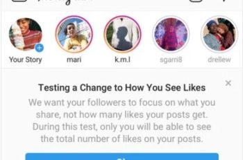 Instagram esconde likes y su conteo en las publicaciones, para que así los usuarios se centren en el contenido real de las fotos y videos.