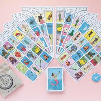 Este creativo latino creó la Lotería Millennial, una versión más contemporánea del clásico juego pero con un tono irónico que nos encanta.