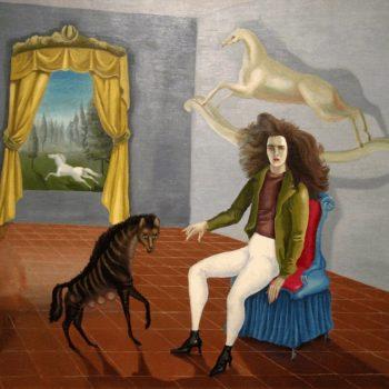 Los GIFs de Leonora Carrington le dan un toque de animación a sus espectaculares pinturas que demuestran el surrealismo en todo su esplendor.